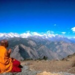 buddhist-monk-on-mountain
