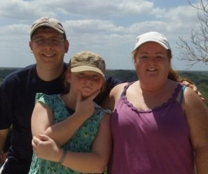 My Family & I at the top of the Pyramids in Coba Mexico